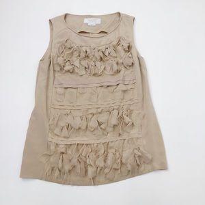 Hanii Y Silk Sleeveless Blouse Size 42